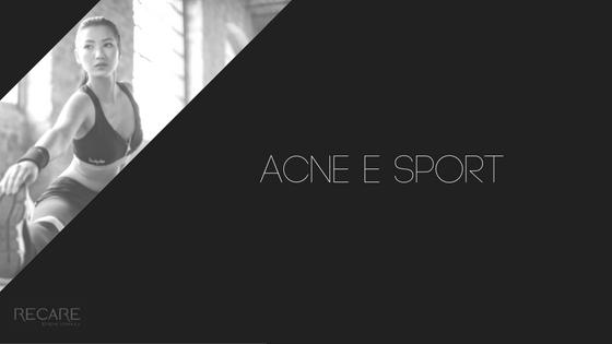 Acne e sport